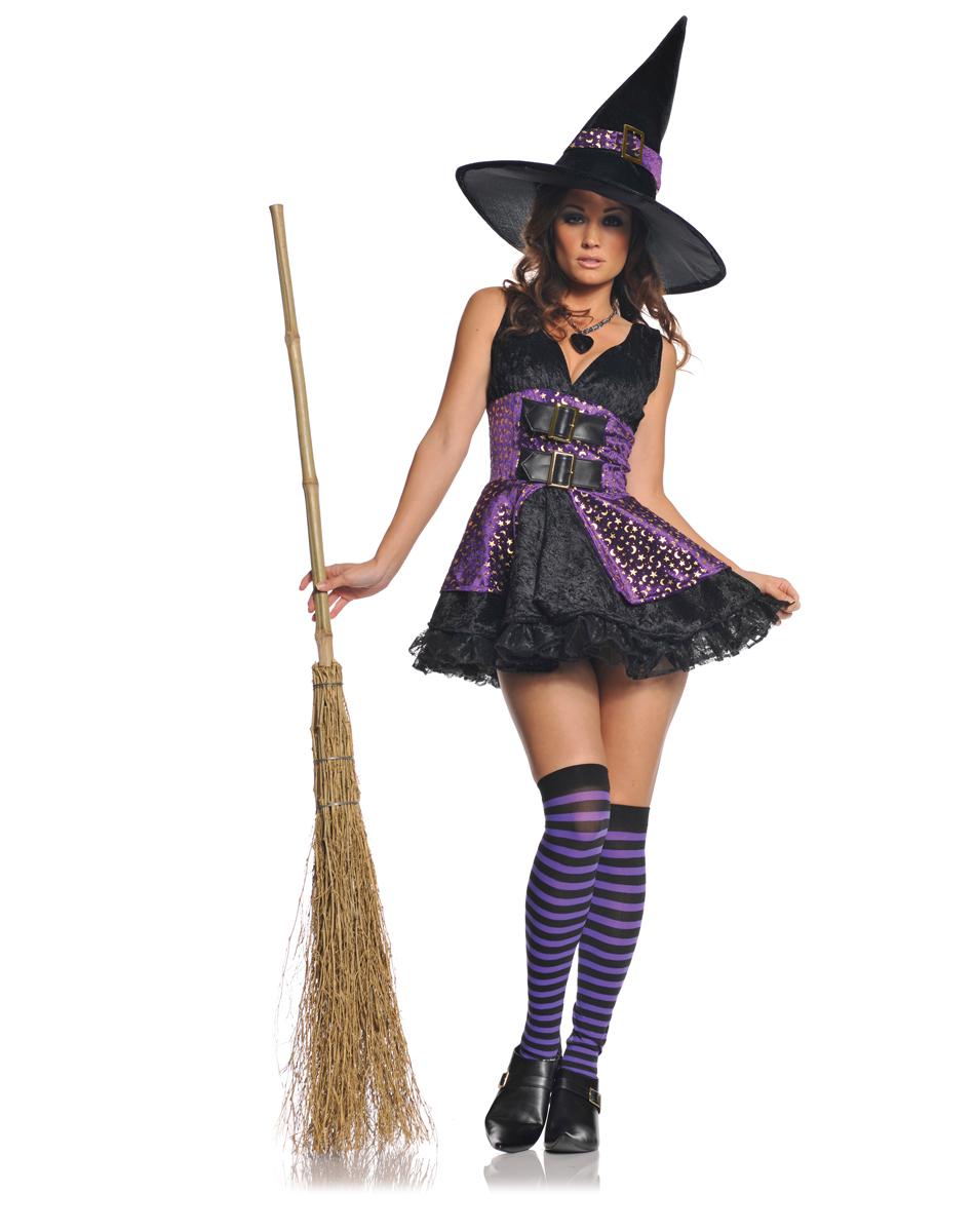 Костюм ведьмы своими руками на хэллоуин