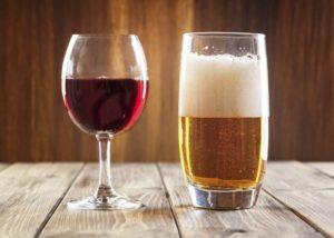 Кое е по-полезно – бирата или виното?