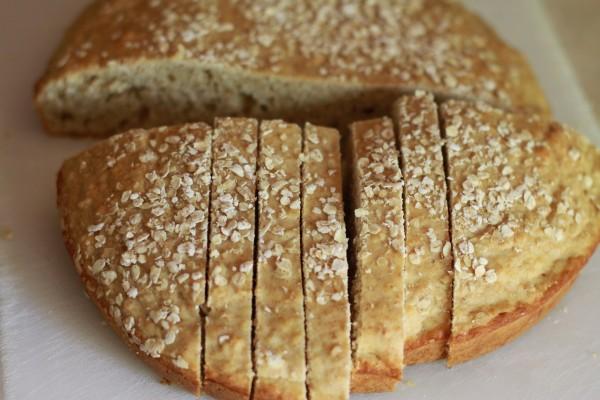 Хрупкав хляб без мая